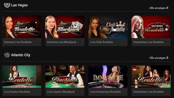 Live-Casino von Stargames