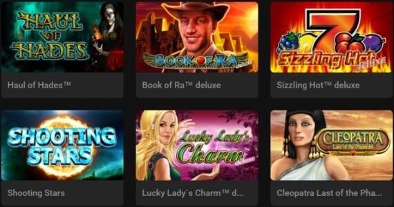Novoline-Games bei Stargames spielen