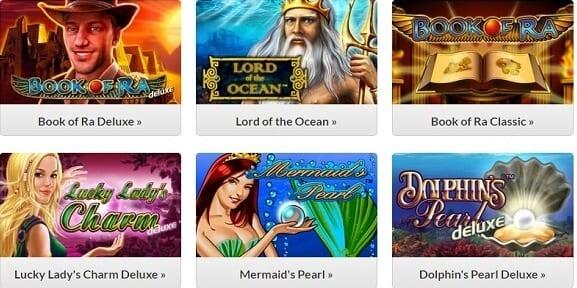 Novoline Games bei Quasar Games
