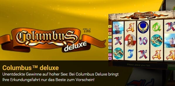 Columbus Deluxe bei Stargames