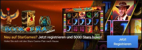 Im Spielgeldmodus Games bei Stargames testen