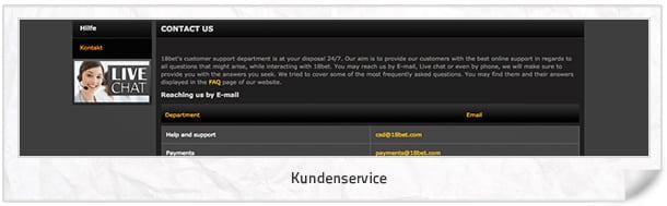 18bet.com_Kundenservice