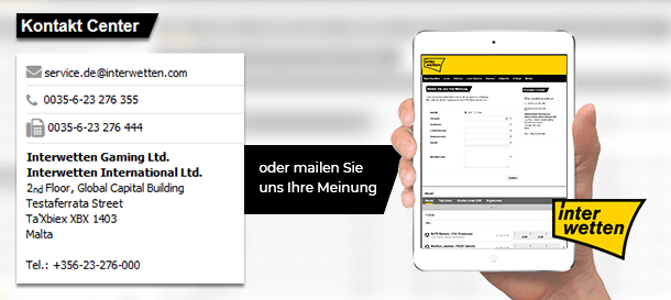 Interwetten Support