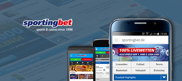 Spoertingbet Mobile App