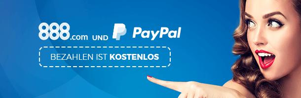 888 mit PayPal