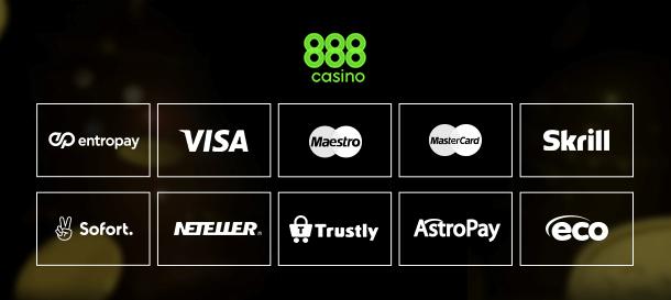 888Casino Zahlungen