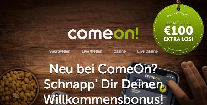 ComeOn Sportewettenbonus