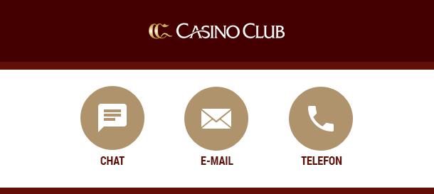 CasinoClub Kundenservice