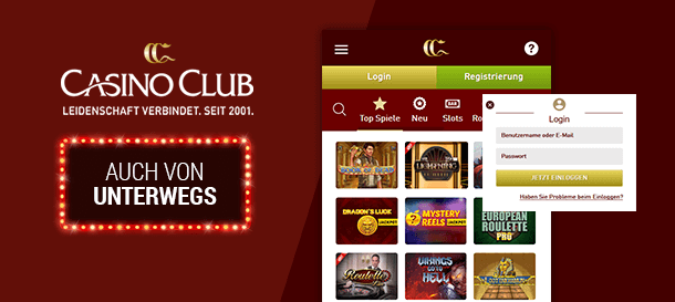 CasinoClub Mobile Casino