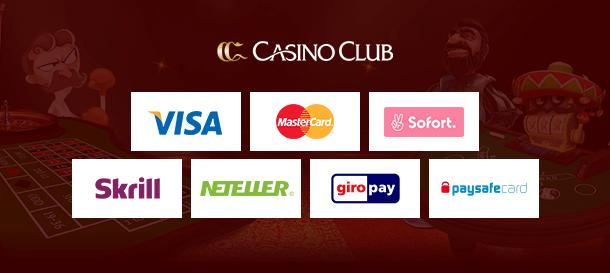 CasinoClub Zahlungen