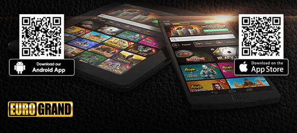 Eurogrand Casino Mobile Casino App