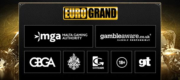 Eurogrand Casino Sicherheit & Lizenz