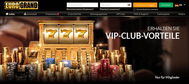 Eurogrand Casino VIP & Treue