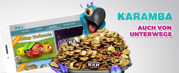 Karamba mobile Bonus