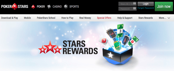 Stars Reward bei PokerStars