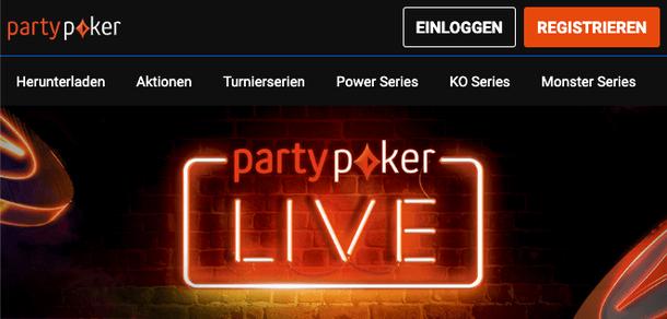 PArtyPoker Live Poker