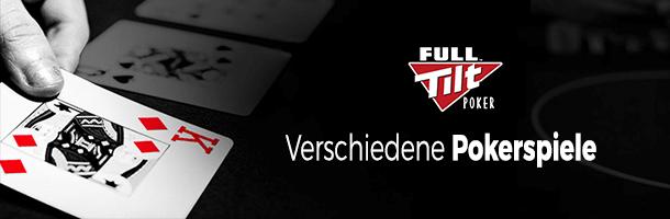 Full Tilt Poker: Poker Spiele