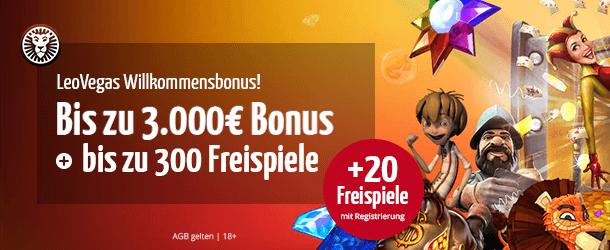 Leo Vegas Bonus 3