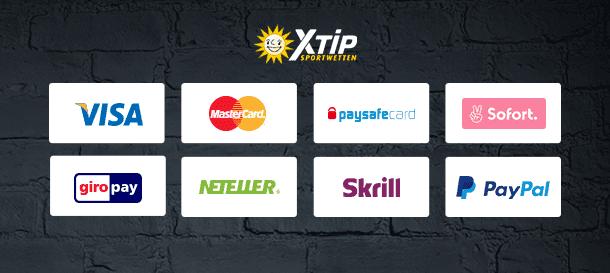 XTiP.de Zahlungsmäglichkeiten