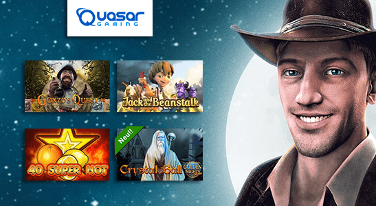 Attraktive Games bei Quasar Games