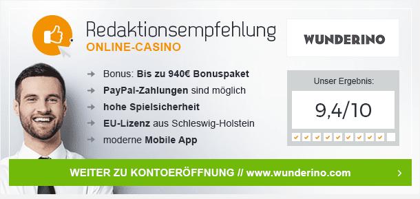 Dunder Casino: Unsere Empfehlung!