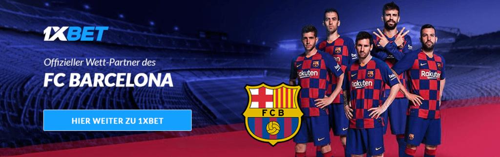 1XBET und FC BARCELONA