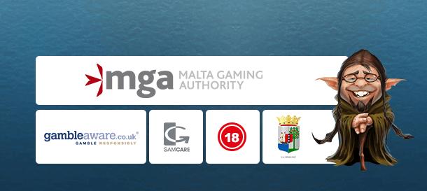 Casino Heroes Sicherheit & Lizenz