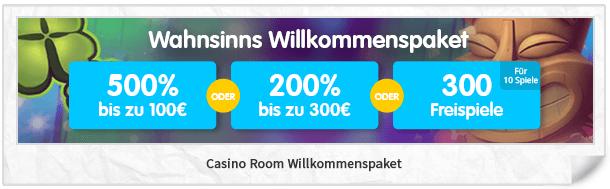 latest casino room bonus codes