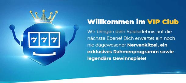 DrückGlück Casino VIP & Treue wird belohnt