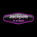 Jackpots in a Flash Logo regular
