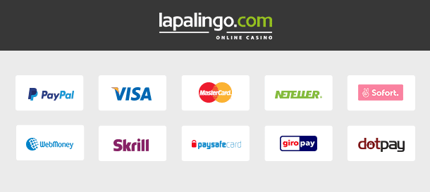 Lapalingo Einzahlungsmöglichkeiten