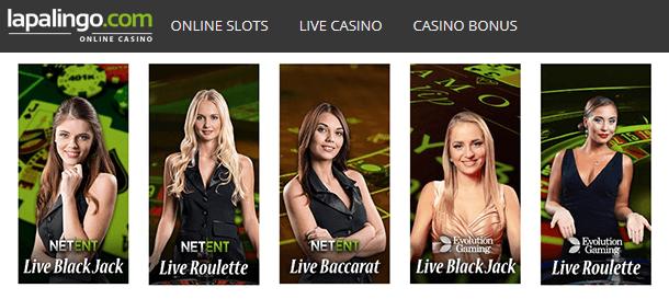 Lapalingo Live Casino