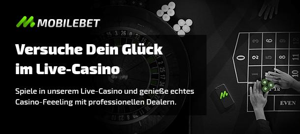 Mobilebet Live-Casino