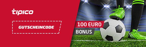 Tipico Bonus mit 100%