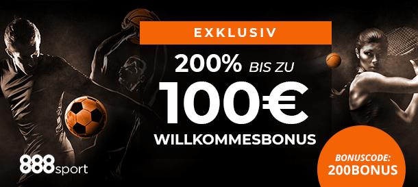 888sport Bonus für Neukunden