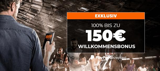 888sport Neukundebonus