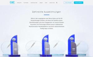 CMC Markets Auszeichnungen