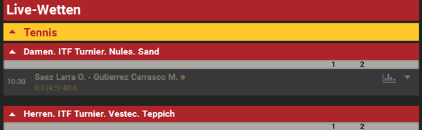 Live Sportwetten