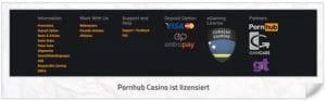 Pornhub Casino Lizenz