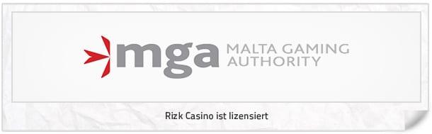 Rizk Lizenz