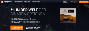 IQ Option als binäre Optionen Broker mit Demokonto