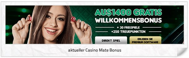 Casino Mate Bonus