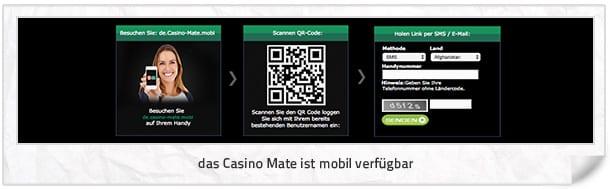 Casino Mate mobil