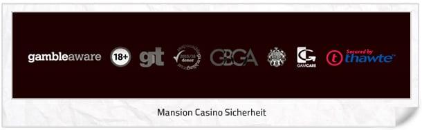 Mansion Casino Sicherheit