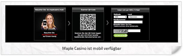 Maple Casino mobil