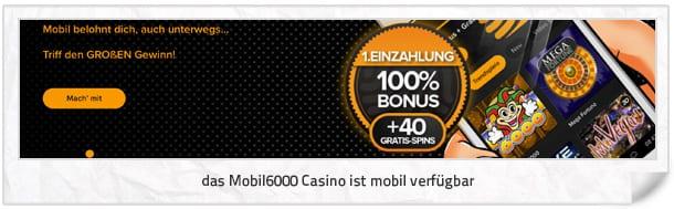 Mobil6000 Casino App