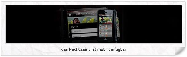 Next Casino mobil