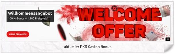PKR Casino Bonus