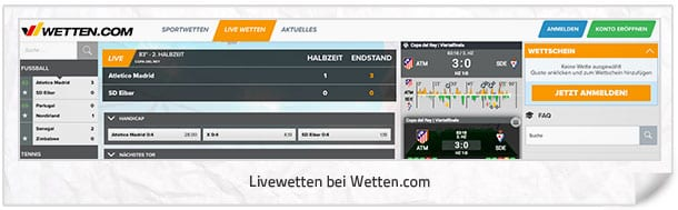 Wetten.com Livewetten