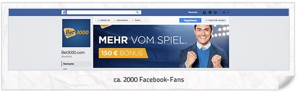 bet3000 Facebook